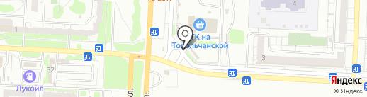 Фонтан шарофф на карте Саратова