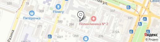 Мехуборка-Саратов на карте Саратова