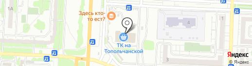 Уральские самоцветы на карте Саратова
