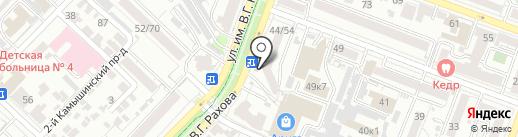 Церковная лавка на карте Саратова