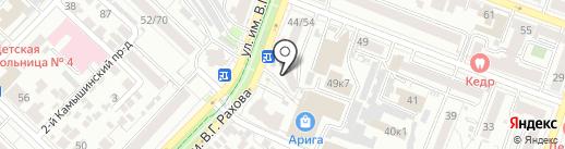 Привет на карте Саратова