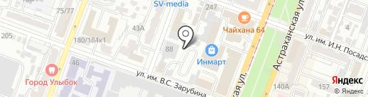 AutoStar на карте Саратова