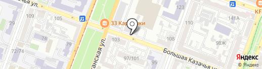 Саратовгорэлектротранс, МУП на карте Саратова