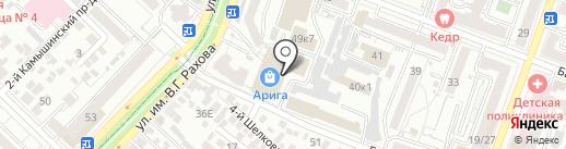 Магазин низких цен на карте Саратова