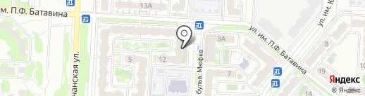 ЭЛИС-МАРКЕТ на карте Саратова