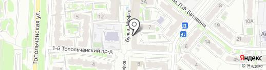 Магазин трикотажных изделий и нижнего белья на карте Саратова