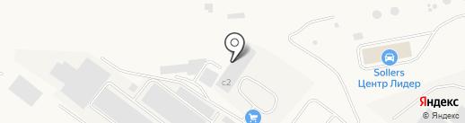 Металлоторг на карте Зоринского
