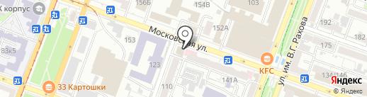 Вершина-Саратов на карте Саратова