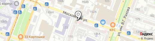 Завод Стройтехника на карте Саратова