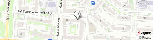 MAX на карте Саратова