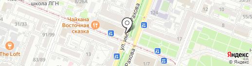 Союз застройщиков на карте Саратова