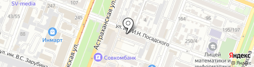ЮНИКИ МОКАНУ на карте Саратова