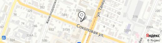 Авто ФАВОРИТ на карте Саратова