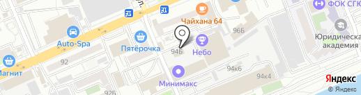 МПКМ на карте Саратова