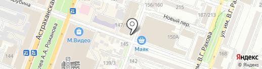 Жемчужина Заволжья на карте Саратова