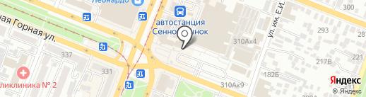 Билайн на карте Саратова