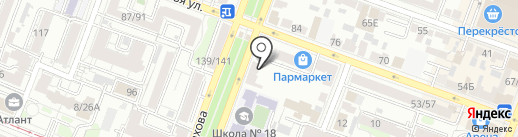 Воздушный город на карте Саратова
