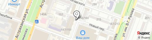 Чехлоff на карте Саратова