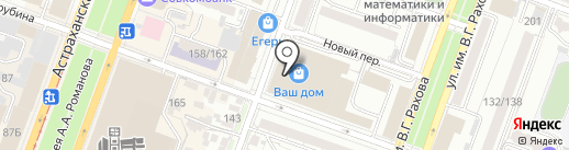 КомплектАльянс на карте Саратова