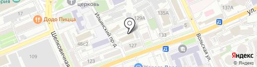 Аква64 на карте Саратова