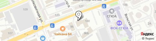 LOFT-PRO на карте Саратова