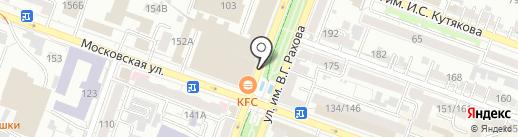 Магазин по продаже посуды на карте Саратова