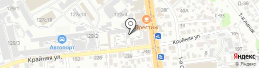 Фрезер на карте Саратова