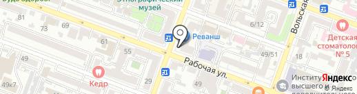 Тюбетейка на карте Саратова