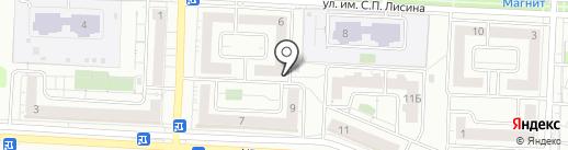 Максима на карте Саратова