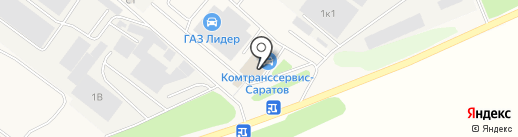 Комтранссервис-Саратов на карте Зоринского