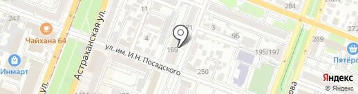Медико-диагностический центр на карте Саратова
