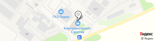СаратовАвтоХолод на карте Зоринского