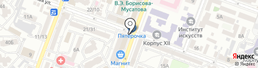 Универ на карте Саратова