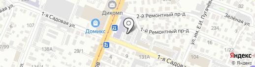 Мои документы на карте Саратова