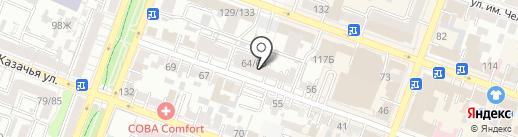 Престиж-2013, ТСЖ на карте Саратова