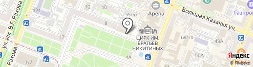Сытый Роджер на карте Саратова