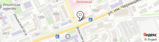 Smokeking на карте Саратова