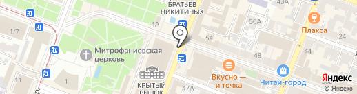 Базарно-карабулакский мясокомбинат на карте Саратова