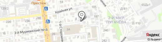 Механики на карте Саратова