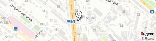 КУБИК-Строй на карте Саратова