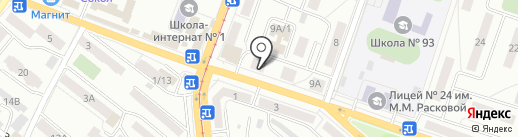 Кардио на карте Саратова