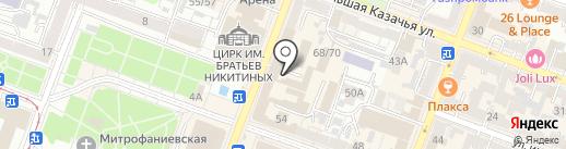 Огни Баку на карте Саратова