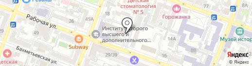 Алмус на карте Саратова