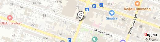 Шпинат на карте Саратова