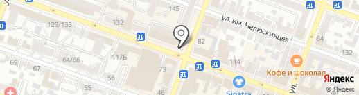 YM на карте Саратова