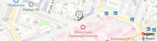 Водосток, МУП на карте Саратова