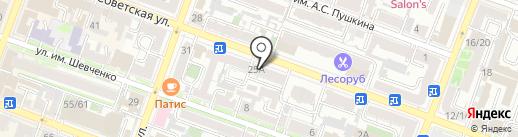 Gentleman на карте Саратова