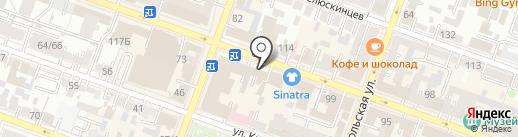 Федеральное бюро судебных экспертиз на карте Саратова