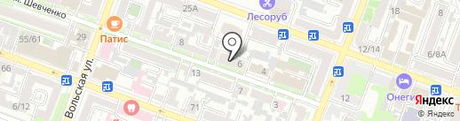Ника на карте Саратова