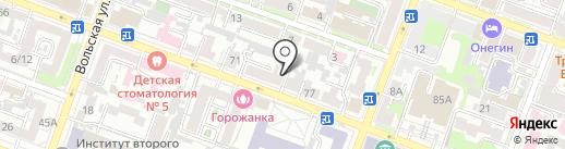 Волга-Строй на карте Саратова